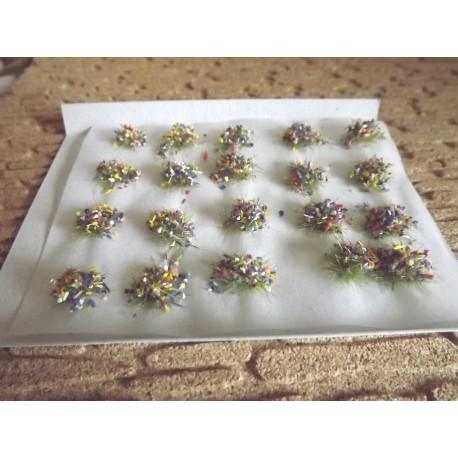 touffes de fleurs couleurs mixtes 6mm