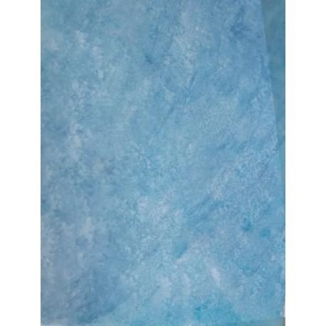 Feuille imitation eau bleu  glacier
