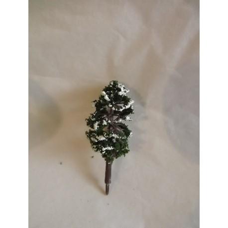 Petit arbre enneigé 6cm