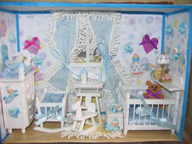 Les vitrines miniatures de danielle for Les accessoire chambre bebe oran