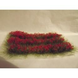 Bande d'oeillets rouges, 12mm de haut