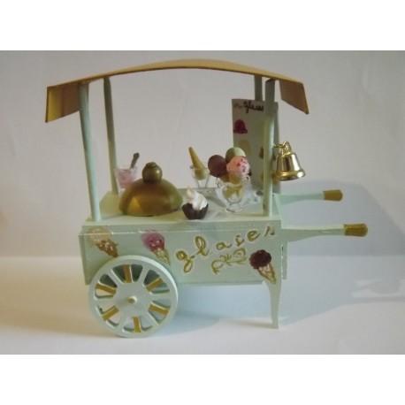 Chariot du marchand de glaces