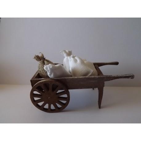 Chariot du meunier 10cm de long