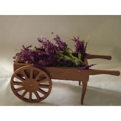 Chariot marchand de lavande 10cm de long