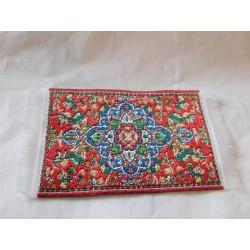 Petit tapis,modèle 1, 8,5cm de long