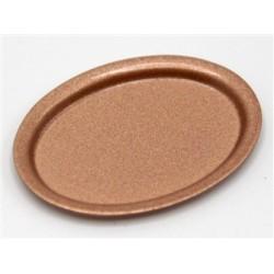 Plateau métal façon cuivre 3,5cm de long