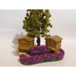 Rûche sur pierre, avec arbre, mod.1