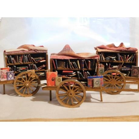 Chariot du libraire ambulant
