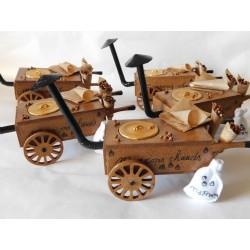 Chariot du marchand de marrons chauds
