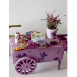 Chariot du marchand de lavande