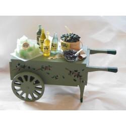 Chariot du marchand d'olives