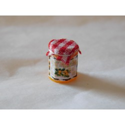 Pot de confiture mirabelles (1,2cm de haut environ)