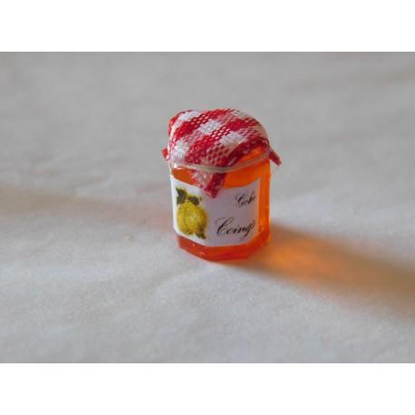 Pot de gelée de coings (1,2cm de haut environ)