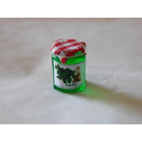 Pot de gelée de menthe (1,2cm de haut environ)