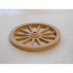 Roue en bois diamètre 5cm