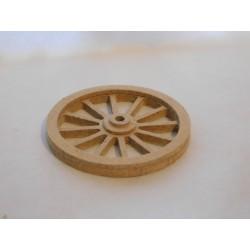 Roue en bois diamètre 5,5cm