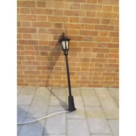 Lampadaire ancien à LED, 7cm de haut