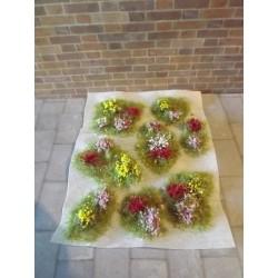 Parterres fleuris modèle 1