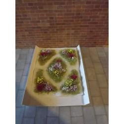 Parterres fleuris modèle 2