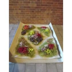 Parterres fleuris modèle 4