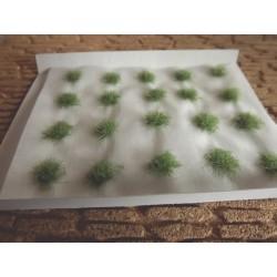 Plaque de touffes d'herbe couleur foncée 6mm