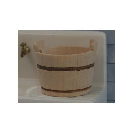 Baquet en bois 3,2cm de diamètre