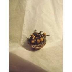 Panier garni de champignons (2cm diamètre)
