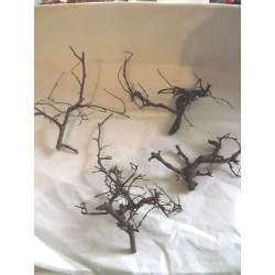 Branchage naturel  pour création d'arbre environ 15cm de haut