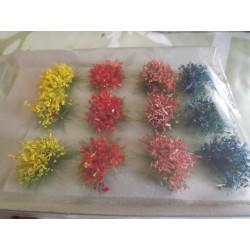 Touffes de fleurs (longueur fibre 12mm)