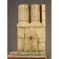 Fontaine romaine à peindre