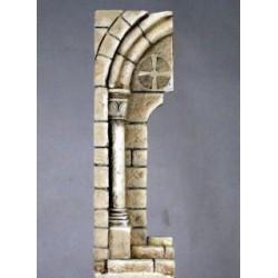 Ruine d'arche d'églis à peindre