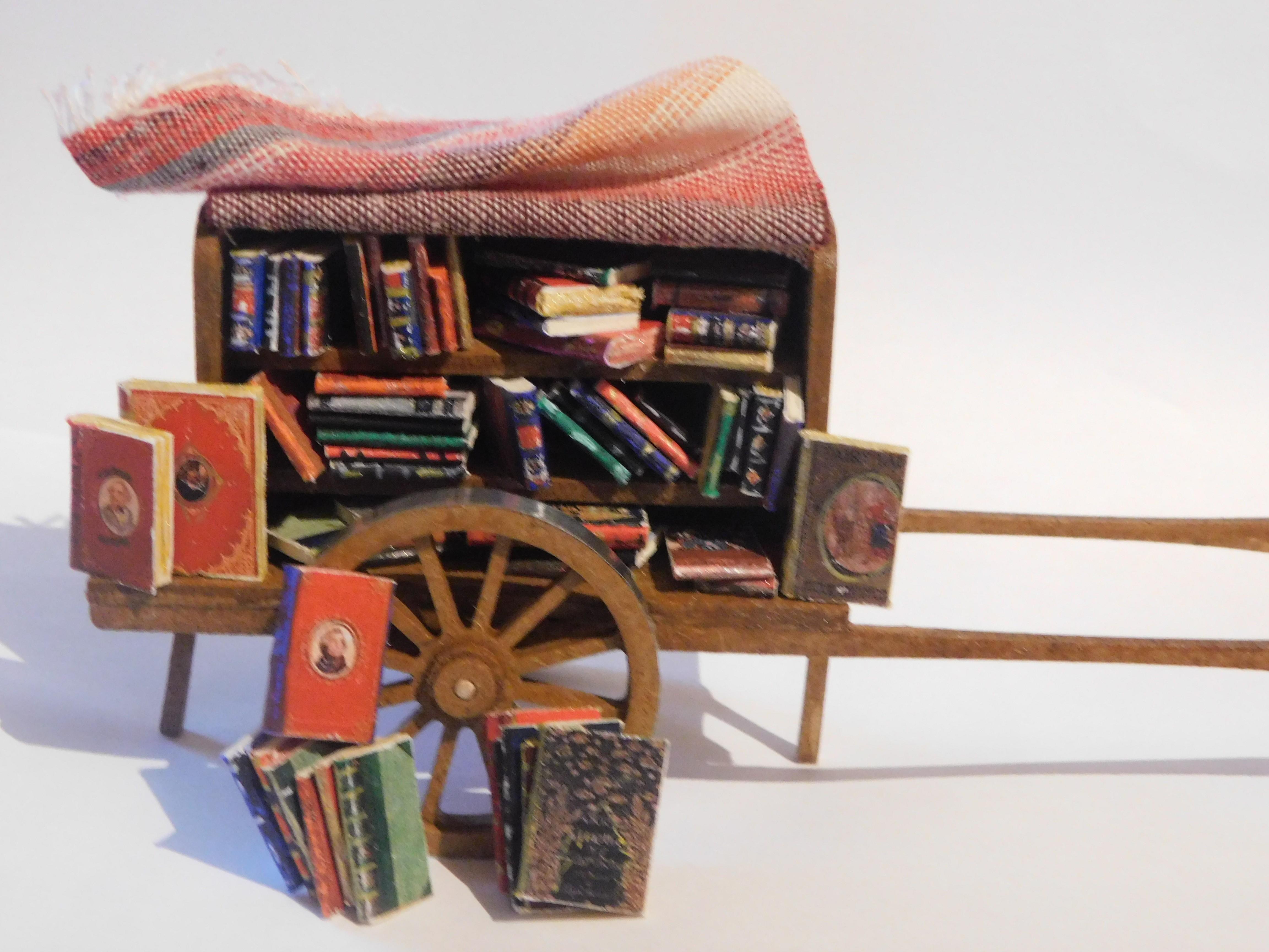chariot bouquiniste pour 7cm
